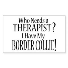 THERAPIST Border Collie Decal