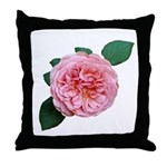 Old-fashioned Rose Throw Pillow