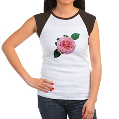 Old-fashioned Rose Women's Cap Sleeve T-Shirt