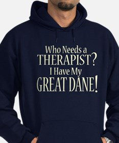 THERAPIST Great Dane Hoodie