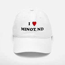 I Love Minot Baseball Baseball Cap
