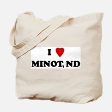 I Love Minot Tote Bag