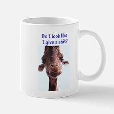 Giraffe/ give a shit Mug
