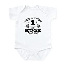 Cute 1 Year Old Infant Bodysuit