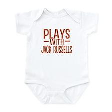 PLAYS Jack Russells Infant Bodysuit