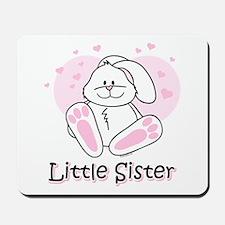 Cute Bunny Little Sister Mousepad
