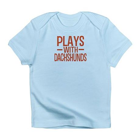 PLAYS Dachshunds Infant T-Shirt