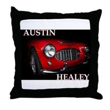 Austin Healey Throw Pillow