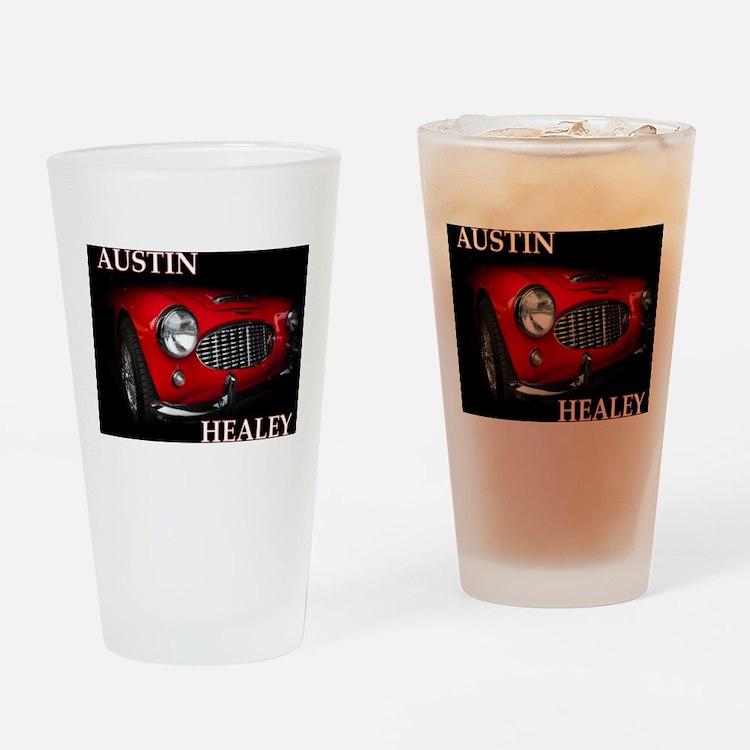 Austin Healey Drinking Glass