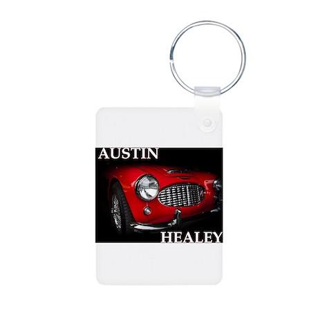 Austin Healey Aluminum Photo Keychain