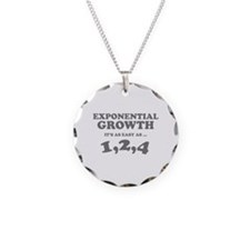 Exponential Growth Necklace
