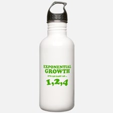 Exponential Growth Water Bottle