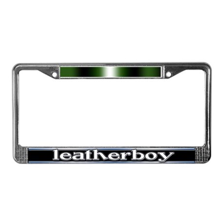 Boy Pride License Plate Frame