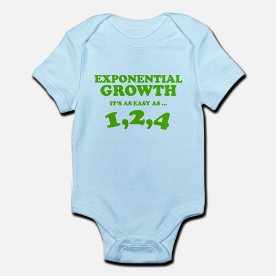 Exponential Growth Infant Bodysuit