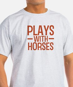 PLAYS Horses T-Shirt