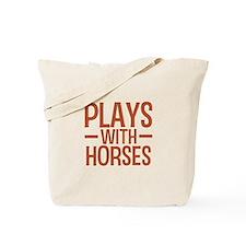 PLAYS Horses Tote Bag