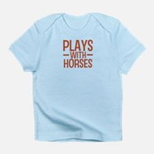 PLAYS Horses Infant T-Shirt