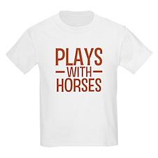 PLAYS Horses T-Shirt