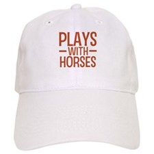 PLAYS Horses Baseball Baseball Cap