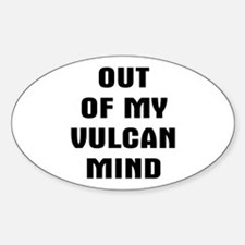 Out Vulcan Decal