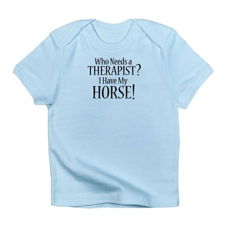 THERAPIST Horse Infant T-Shirt