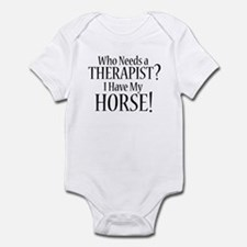 THERAPIST Horse Infant Bodysuit