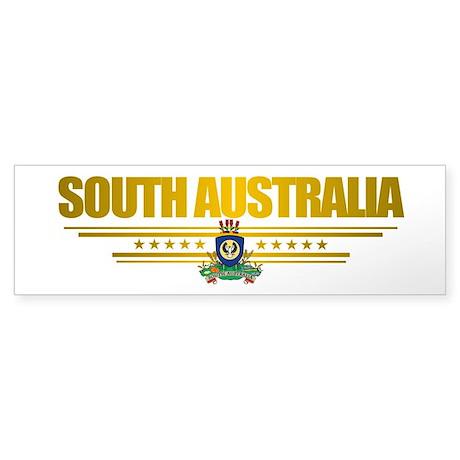 """South Australia Flag"" Sticker (Bumper)"