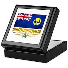 """South Australia Flag"" Keepsake Box"