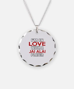 I Am In Love With Jai Alai P Necklace