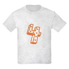 Happy 4th Fourth Birthday T-Shirt