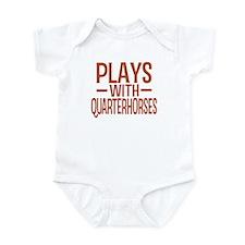 PLAYS Quarter Horses Infant Bodysuit