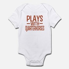 PLAYS Quarter Horses Infant Bodysuit