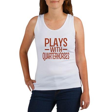 PLAYS Quarter Horses Women's Tank Top