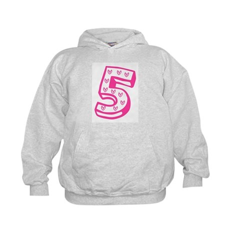 Happy 5th Fifth Birthday Kids Hoodie