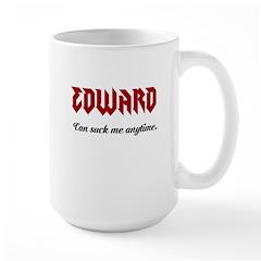 Edward/ suck me Mug