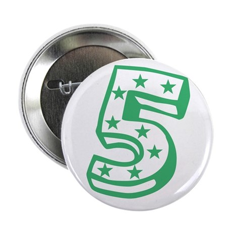 "Happy 5th Fifth Birthday 2.25"" Button"