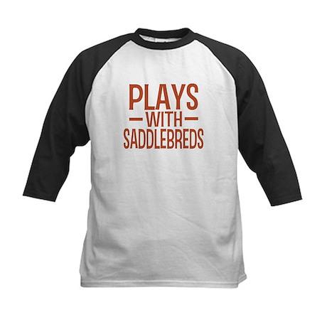 PLAYS Saddlebreds Kids Baseball Jersey
