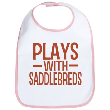 PLAYS Saddlebreds Bib