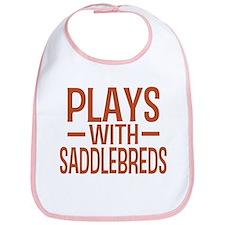 PLAYS Saddlebreds Bib