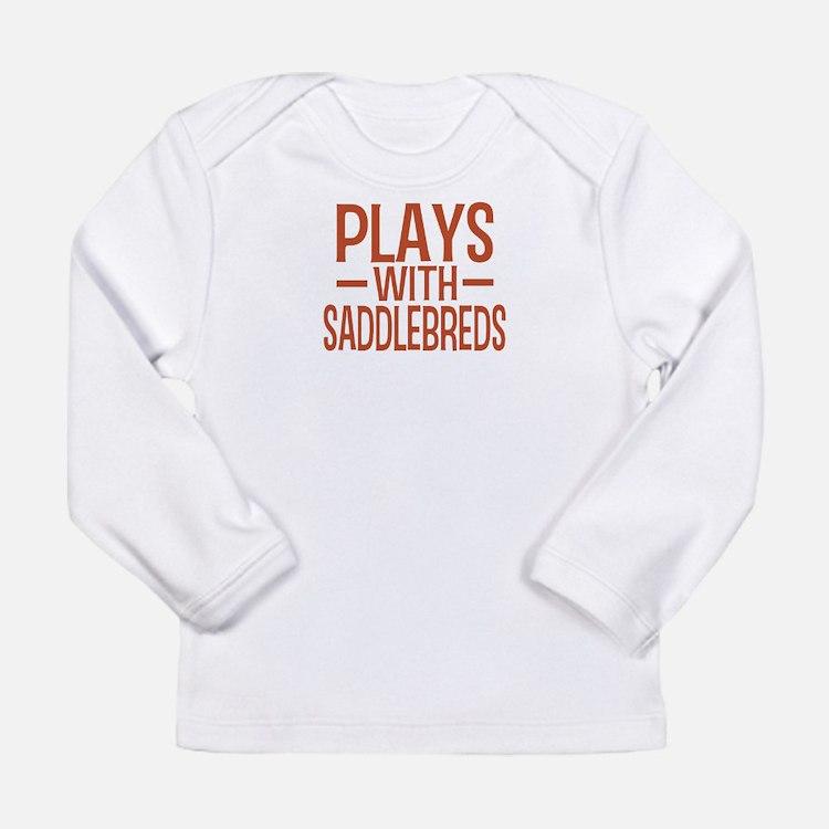 PLAYS Saddlebreds Long Sleeve Infant T-Shirt
