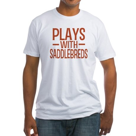 PLAYS Saddlebreds Fitted T-Shirt