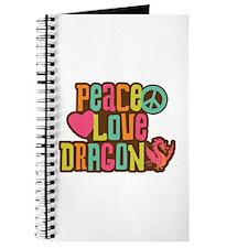 Peace Love Dragon Journal