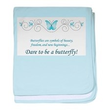 Butterfly Challenge baby blanket