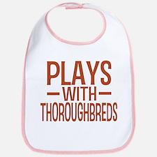 PLAYS Thoroughbreds Bib