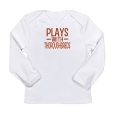 PLAYS Thoroughbreds Long Sleeve Infant T-Shirt