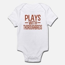 PLAYS Thoroughbreds Infant Bodysuit