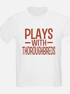 PLAYS Thoroughbreds T-Shirt