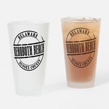 Rehoboth Beach Title Drinking Glass