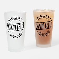 Laguna Beach Title Drinking Glass