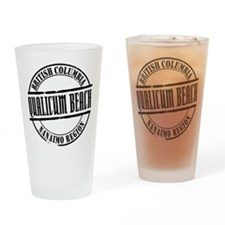Qualicum Beach Title Drinking Glass